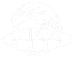 Antiparos surfing livadia beach learn how to surf white loggo